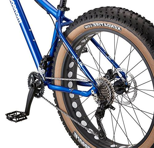 "Mongoose Argus Tire 26"" Blue, 15 inch/Small"