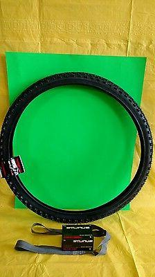 Bicycle Tire 26 x 1 .75  Black Wall Knobby Alfabite  Combo T