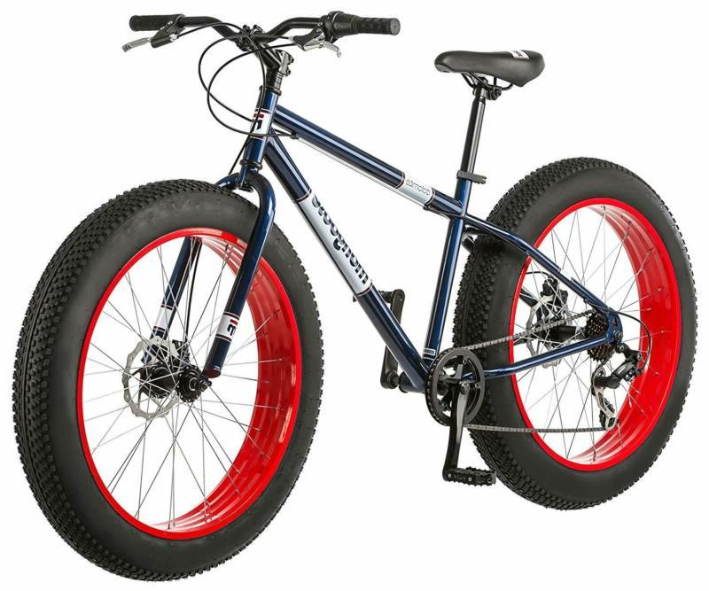 Fat Tire Mountain Bike 26-Inch Wheels Threadless Headset Adj