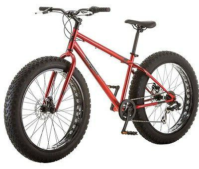 Mongoose Mountain Red Terrain Disc Brake