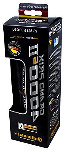 Continental Grand Prix 4000s II Cycling Tire, Black, 700x23