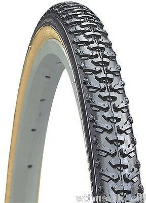 Kenda K161 Knobby Wire Bead Bicycle Tire, Gumwall, 27-Inch x