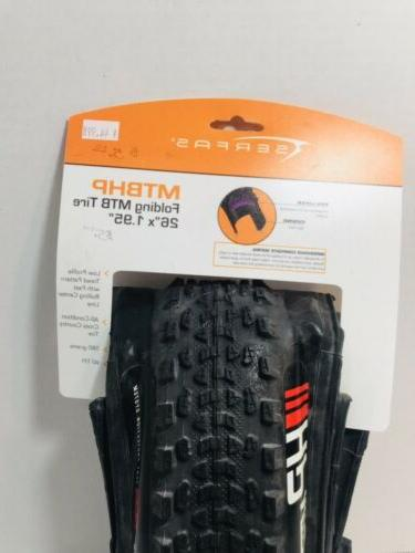 "SERFAS MTB Bicycle Tire X 1.95"" In"
