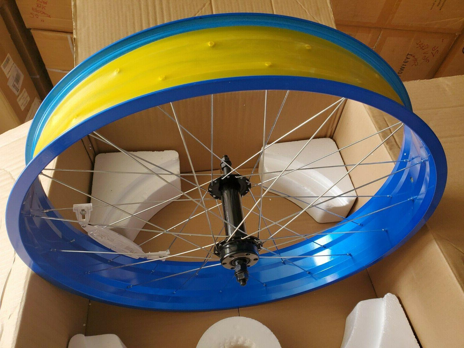 """New 26"""" rim 26 tire rear bicycle Mongoose"""