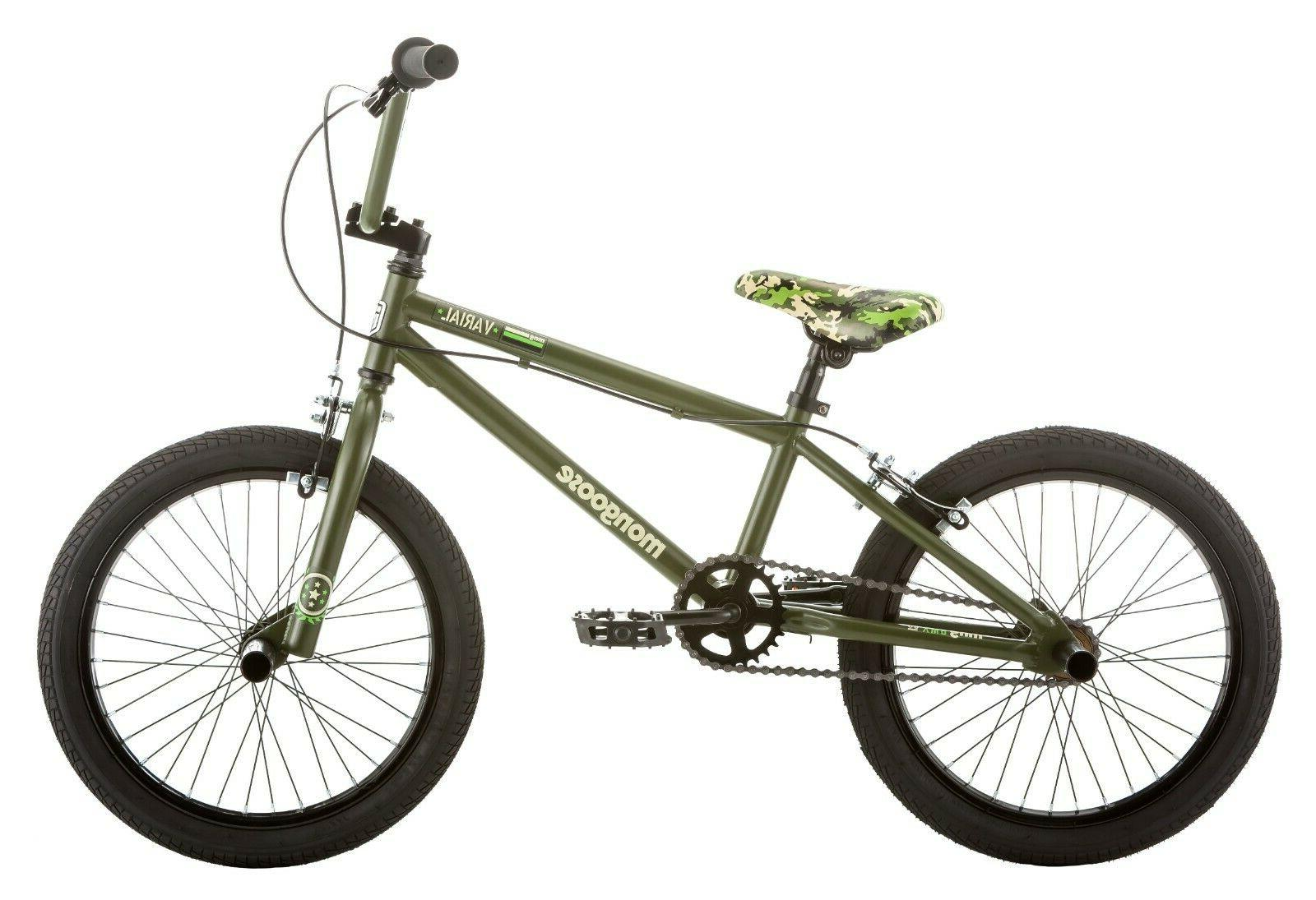 new varial 18 inch boys bmx freestyle
