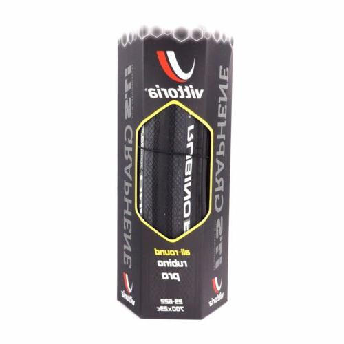 Vittoria Rubino Pro Bicycle Bike Tire G+ GRAPHENE 700 x 23c
