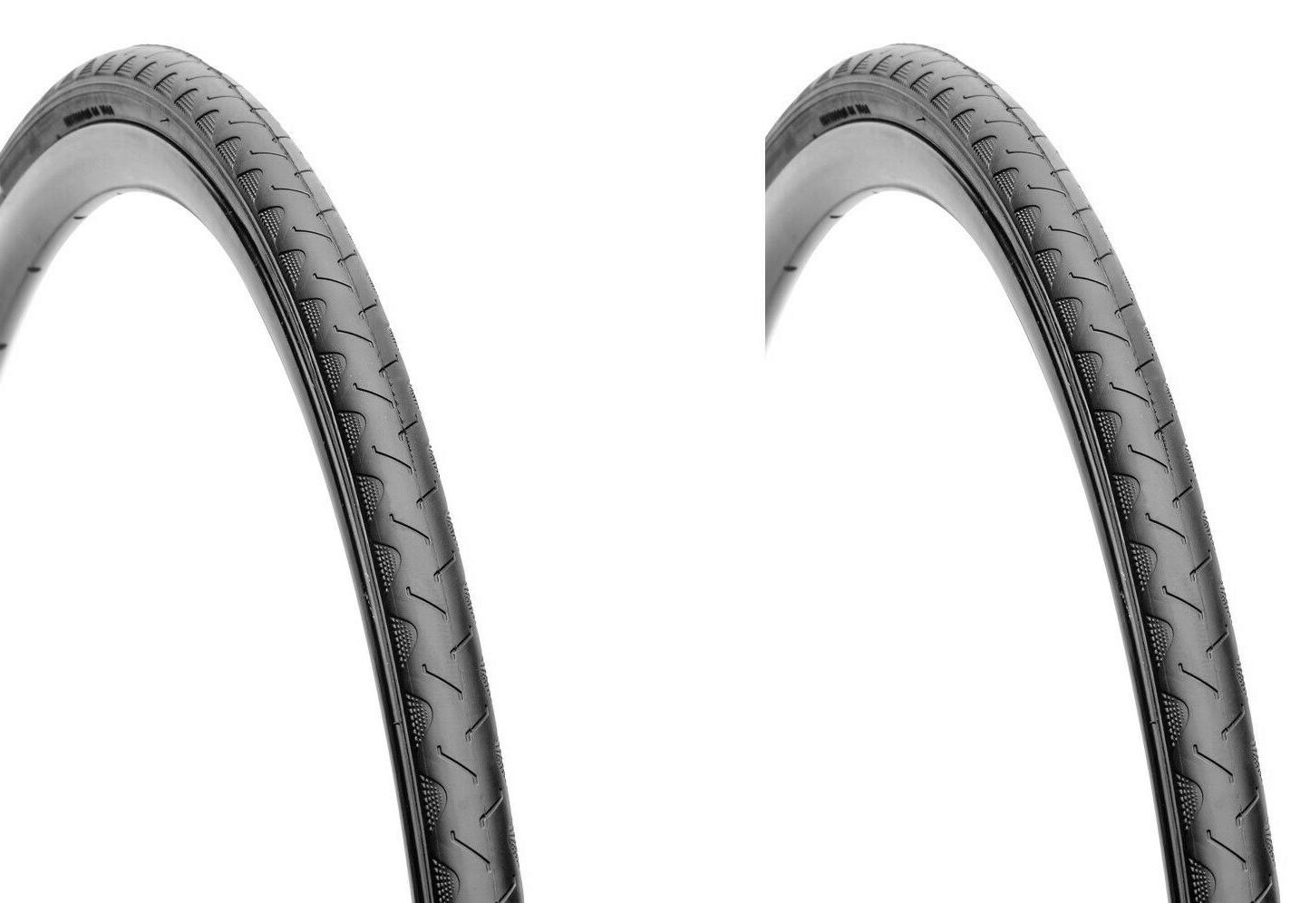 Two  700 x 25C Deli Tire Bike Bicycle Tires S601 Wire Bead B