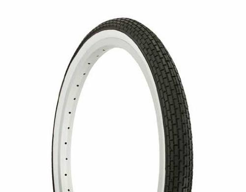 tire duro black white side