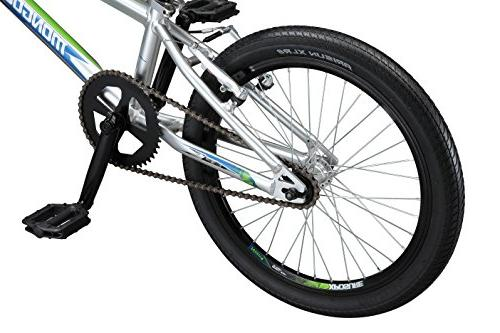 Mongoose Title Pro Race 20-Inch Silver