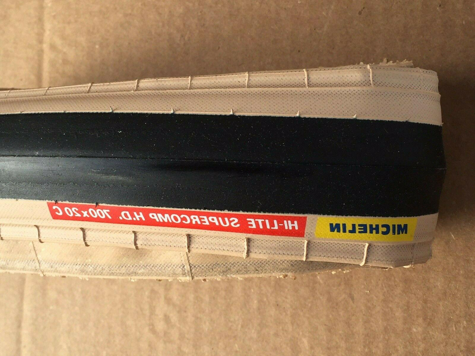 VINTAGE NOS MICHELIN SUPERCOMP CLINCHER BICYCLE TIRE IN BOX