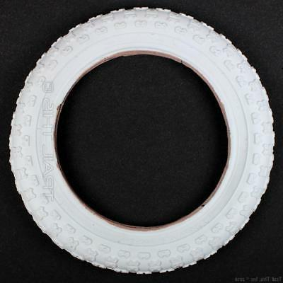 white bicycle bmx bike tire