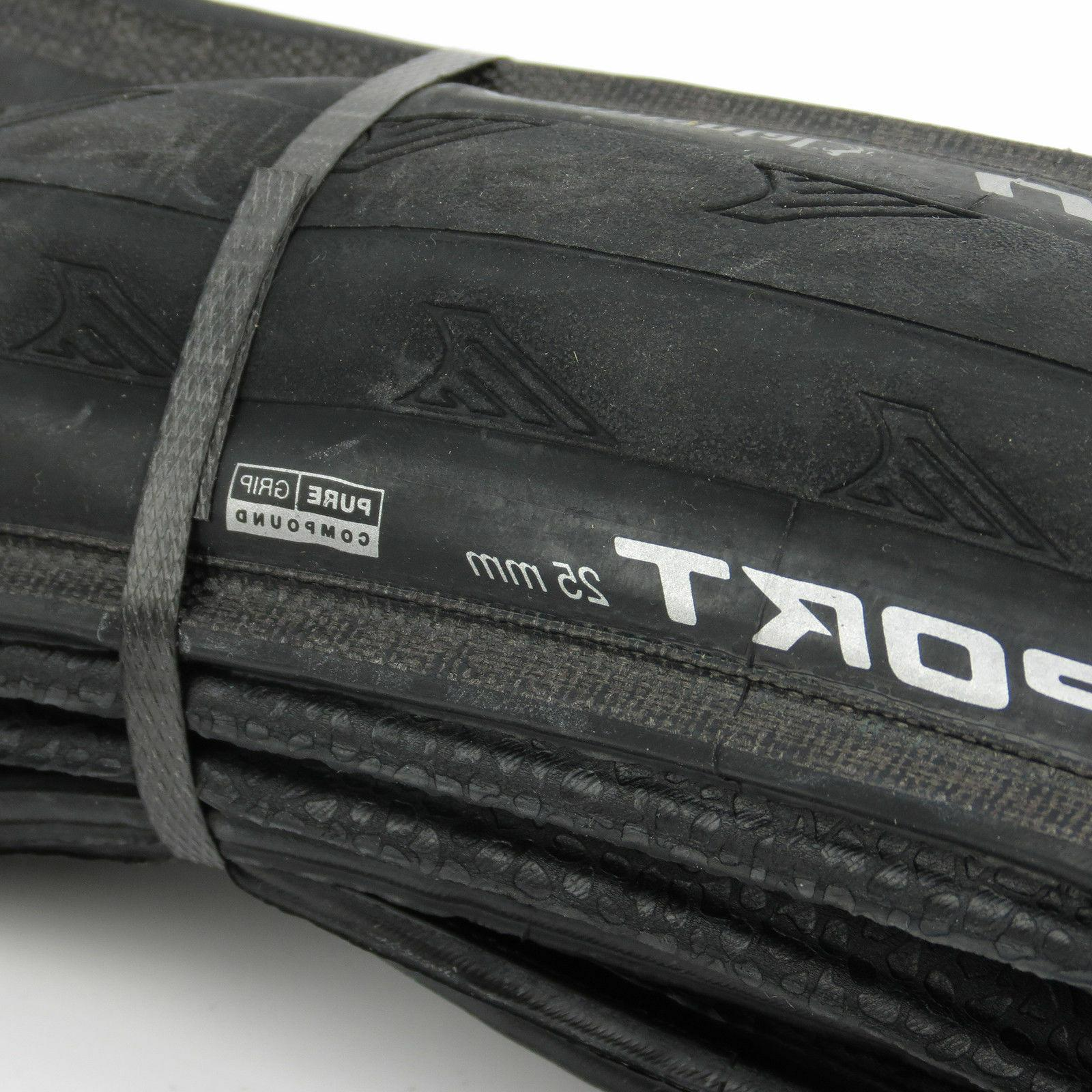 x2 Continental SPORT 700 Road Racing Touring Tire Tyre