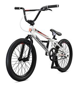 Mongoose Title Pro Elite XL20 Freestyle BMX Boy's Bike, Whit