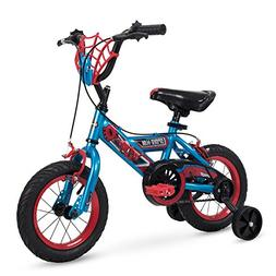 "12"" Marvel Spider-Man Boys Bike by Huffy, Web Plaque"
