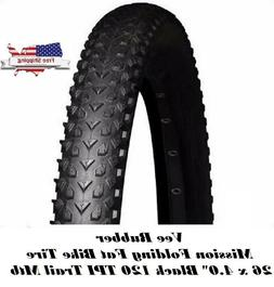 Vee Mission Rubber Mountain Bike Tire 26 x 4.0 26 X 4.0