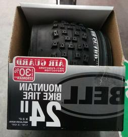 """Bell Mountain Bike Tire 24"""" X 2.0"""" 1.75-2.125 With Air Gua"""