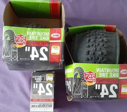 """BELL MOUNTAIN BIKE TIRES 24"""" inch  with 1 INNER TUBE"""