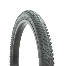 "NEW!! 20"" x 1.95"" Bicycle Tire ALL BLACK MTB Style Thread Mo"
