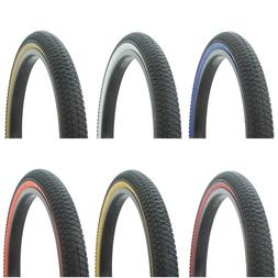 "NEW! Bicycle Tire 20"" x 1.95"" BMX LOWRIDER FIXIE MTB TRIKE C"