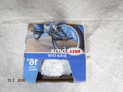 New With Tag And Box 16 Inch White BMX Bike Tire Bell Bike T