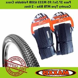 Maxxis Pace 27.5x1.95 M333 650B Foldable Cross Country Tyre