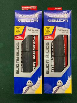 Pair -  New In Box Michelin Power Endurance Tire 700x23mm -