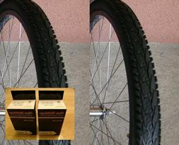 """Pair  of Deli 26x1.95"""" Bicycle Bike Tire SA-282 Puncture Res"""