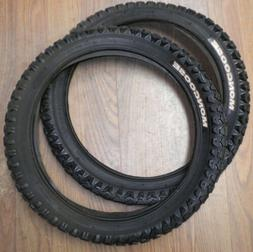 PAIR MONGOOSE BLACK 16 X 1.95 KID'S MOUNTIAN BIKE TIRES TR00