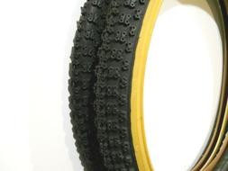 PAIR BLACK GUMWALL CHENG SHIN BICYCLE TIRES 20 X 1.75 JUMPER