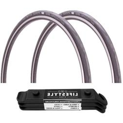 Schwalbe Pro One Tubeless Clincher Bike Tires  2-Pack with T