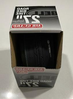 """Bell Road Bicycle Tire 27""""x1-1/4"""" Air Guard Anti-Puncture Bl"""