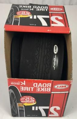 "Bell Road Bike Tire Folded 27"" X 1 1/4""."