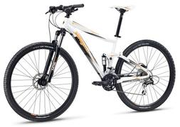 "Mongoose Men's Salvo Sport Mountain Bike with 29"" Wheel, Whi"