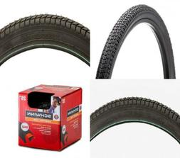Schwinn Bicycle Tire 26x1.95, Black with Kevlar Bead