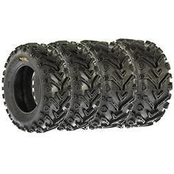 Set of 4 SunF A041 Mud & Trail 24x8-12 Front & 24x10-11 Rear