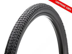 Schwinn Bike Replacement Tire with Kevlar  black, hybrid/com