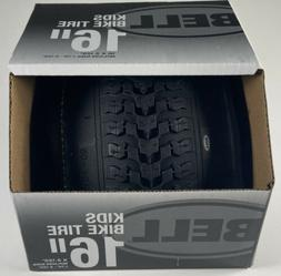 "Bell 7091031 Kids Bike Tire, 16"" x 1.75-2.25"", Black"