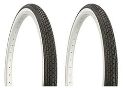 """Lowrider Tire Set. 2 Tires. Two Tires Duro 26"""" x 1.75"""" Black"""