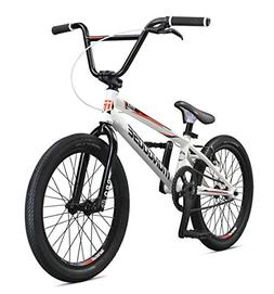 Mongoose Title Elite Pro BMX Race Bike, 20-Inch Wheels, Whit