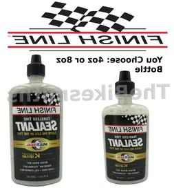 Finish Line Tubeless Bike Tire Sealant 4 or 8 oz Road Mounta