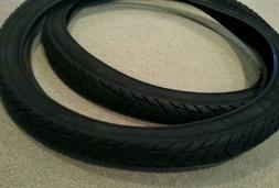TWO DURO 26X2.125 BEACH CRUISER  BICYCLE TIRES STREET SLICK