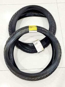 TWO  BICYCLE TIRES SUNLT 20x4-1/4 BK/BK ISO:406