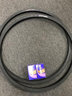 TWO Tires+Tubes 700x25c *Puncture Protection Thorn Resistant