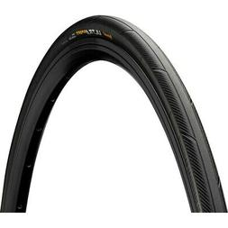 Continental Ultra Sport II 700X23C Wire Bead Black Tread/Bla