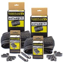 Eastern Bikes Premium Upgrade 26 x 1.95 Inch Tire and Tube R
