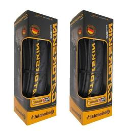X2 Continental Gatorskin 700x23mm Folding Clincher Tires Bla