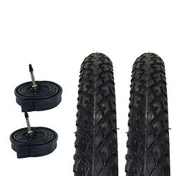 Zol Bundle 2 Pack Z2011 Urban Hybrid Tires and Tube 700x38C,
