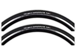 Vittoria Zaffiro Wire Bead Road Bike Tire 700x25mm Black - P